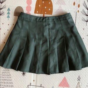 Forever 21 Women's Green Skirt (Size Medium)